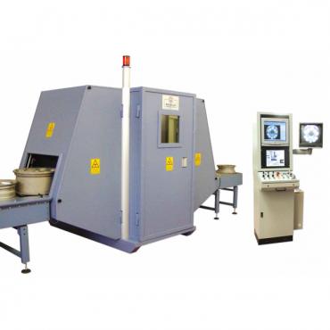 Рентгенотелевизионная система для контроля колесных дисков W.R.E Thunder 3